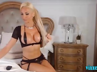Busty Euro Babe Seductive On Cam part 1
