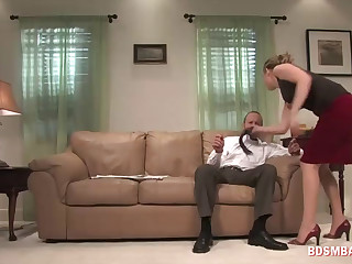 Dude Got Fucked in the Ass by His Babe