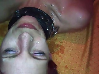 gangbang with skinny german Milf