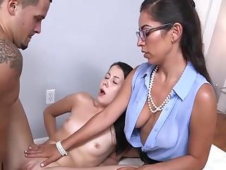 Sofia Rivera shows her stepdaughter