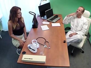 Doctor Fucks Minx in Job Interview
