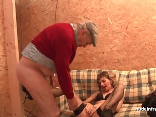 French mom hard anal pounded