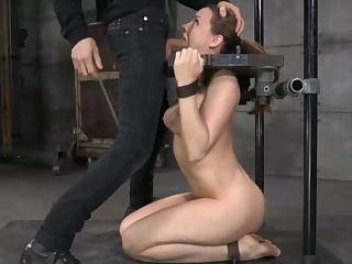 Chanel Preston Gets Fucked In Stocks