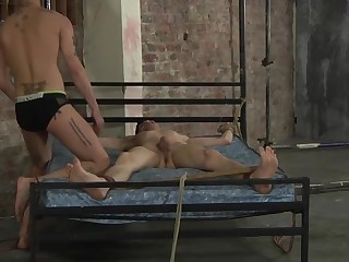 A Ball Punishing Fuck For Luke - Luke Tyler & Mickey Taylor