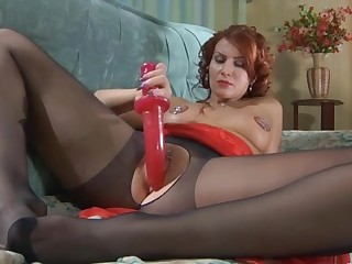 Marianne pantyhose tease movie