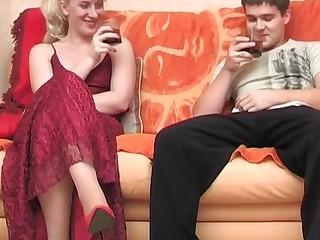 Silvia and Maximilian nasty mature action
