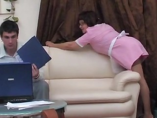 Elvira and Vitas naughty mom in action