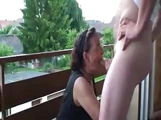follando En El Balcón