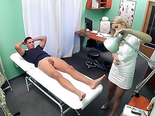 Nurse eases pressure in studs balls