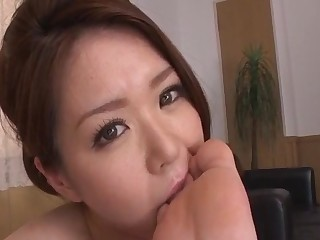 China Mimura provides steamy POV blwojob