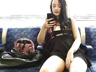 Upskirt metro