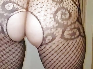 aunty in sexy dress