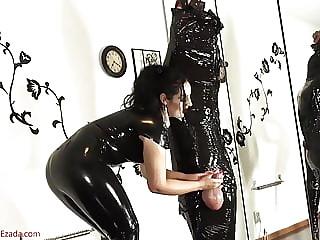 Mistress Ezada Handjob Massive Big Balls