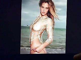 Israeli whore Bar Refaeli moaning tribute1.0