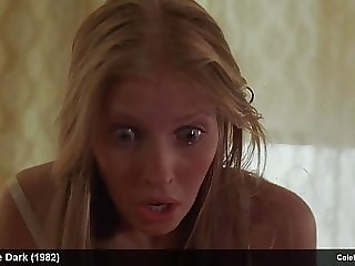 blonde actress Carol Levy topless and lingerie movie scenes
