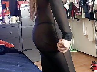 Sexy gf see through