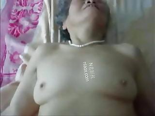 chinese granny likes fucking