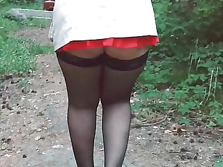 walking without panties