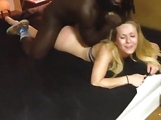 Blonde Teen Fucked Hard by Black Man - BBC Interracial