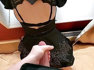 2b Cosplay Nier Automata Anal Sex & Cum