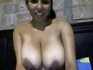Tetona en web cam