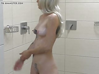 small sexy shower
