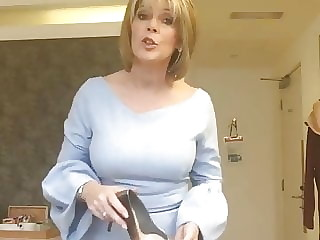 British Milf Shoe Tease